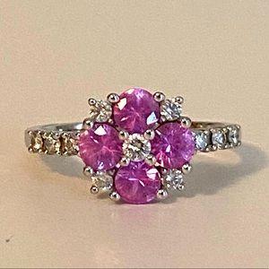 Gold, Sapphire, Diamond Ring
